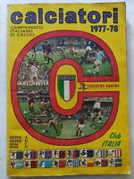 ALBUM CALCIATORI 1977-1978 PANINI QUASI VUOTO FIGURINE OTTIME CONDIZIONI 77-78