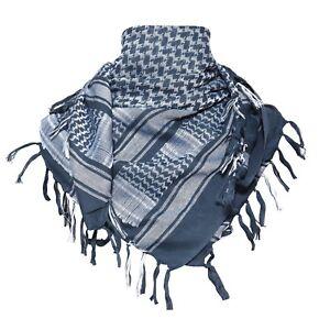 100% Cotton Lightweight Safari Army Shemagh Kafiya Keffiyeh Arabic Head Scarfs