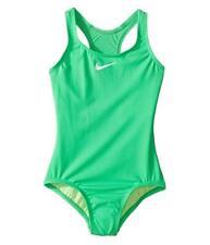c0e8cc1bb1c5b Nike Kids Solid Core Racerback One Piece Big Girl's size 14 Green #8689/9639