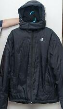 BEAUTIFUL K-WAY PLUS + MEN'S WINTER HOODED JACKET BLACK XL $380