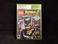 LEGO Batman 2: DC Super Heroes (Microsoft Xbox 360) BRAND NEW