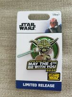 Disney Star Wars Yoda Pin May The 4th Be With You 2020