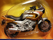 MAISTO Die-Cast - 1/18 Scale Motorcycle Gold/silver Yamaha TDM850 Turbo Replica