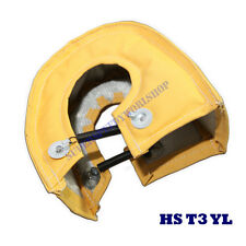 T25 T28 T3 GT25 GT30 GT32 GT35 Turbo charger Turbine Heat Shield Blanket YELLOW