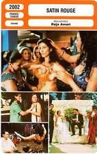 FICHE CINEMA : SATIN ROUGE - Abbass,El Fahem,Kamoun,Amari 2002 Red Satin