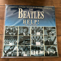 THE BEATLES - HELP ! IN CONCERT - LP - LIMITED EDITION BLUE VINYL ALBUM
