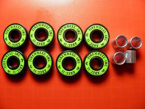 8 x FIREWHEEL-INC ABEC 11 SCOOTER SKATEBOARD BEARINGS *NEW* GREEN SHIELDS