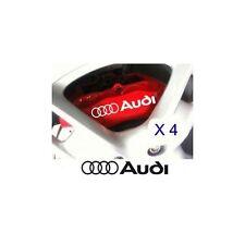 Autocollant Frein Audi stickers étriers - couleur : blanc