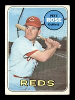 1969 Topps Set Break # 120 Pete Rose VG *OBGcards*