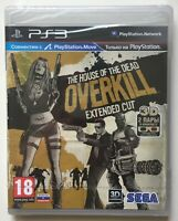 The House of the Dead Overkill (PlayStation 3) Factory Sealed REGION FREE New