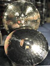 "Paiste 14"" Signature Reflector Heavy Full Hi Hat Brilliant CLEAN New Old Stock"
