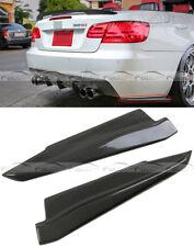 Carbon Fiber For BMW E92 E93 M3 Coupe/Convert Rear Splitter Extend 2008-13