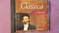 J. STRAUSS - I MAESTRI IMMORTALI DELLA MUSICA.  CD EDIZIONE DEAGOSTINI