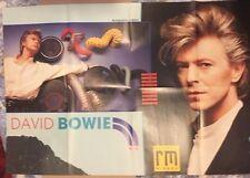 DAVID BOWIE Original Vintage Record Mirror Poster