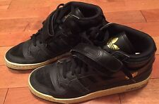 Gioia Adidas Men's Black And Gold Sneakers Size 13