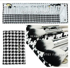 BF Pro 33 Pcs Different Style Houndstooth Check Make-up Brushes Set  #812