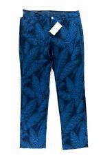 Bonobos Professional Golf Pants Mens 36x32 Slim Fit Trousers NWT Blue Design