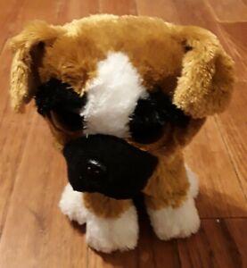 "TY Beanie Boo: Brutus (Boxer Dog) 6"" Plush/Stuffed Animal"