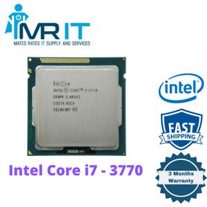 Intel Core i7 3770 @ 3.40 GHz 4 Cores 8 Threads LGA 1155 Socket CPU