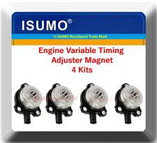 Set of 4 Engine Variable Timing Adjuster Magnet Fits: Mercedes Benz 2006 & Up