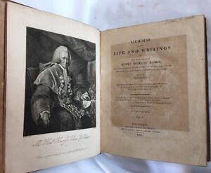 1807 Memoirs Life And Writings Lord Henry Home Of Kames Scotland First Edition