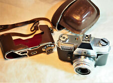 Ancien appareil photo Kodak retina reflex IV Schneider Rétina-Xenar 50 mm f:2.8