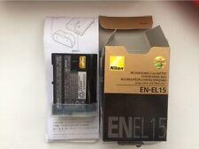NIKON EN-EL15 Battery D600 D610 D600E D800 D800E D810 D7000 D7100 d750 V1 MH-25