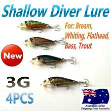 4X Like Fishing Bream Lure Lures 5.5cm 3g Bream Whiting Flathead  Bass  Trout