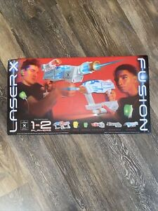Laser X Fusion by NSI International, Set Equips 1 or 2 Players, New In Open Box
