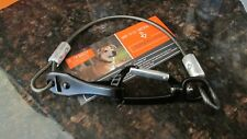 """Mighty Paw Chew Proof Dog Seat Belt Steel Cable Safety Belt, SM 18"""" 40 cm Black"""