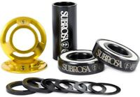 Subrosa Bitchin BMX 19mm Mid Bottom Bracket Set - Gold BB Bike Kit