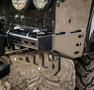 Land Rover Defender 90 Stainless Steel Bumperettes - Uproar 4x4