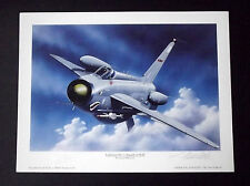 Aviation Art - BAC Lightning F.6  Signed Limited Edition