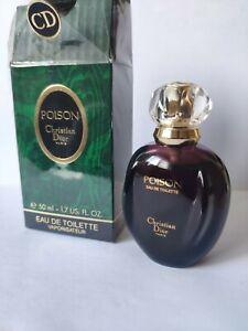 Vintage Christian Dior Poison 50ml women's perfume