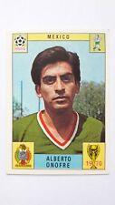 Panini 1970 Mexico 70 Alberto Onofre Unused