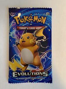 Pokemon Evolutions Booster Trading Card Game Packs
