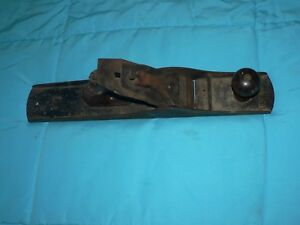 Vintage Tool Wood Plane Made in USA Wards Master # 6 Bench 18""