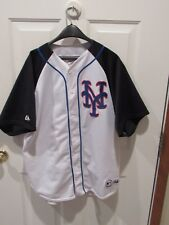 NEW YORK METS baseball jersey men's size XL MLB Majestic USA made