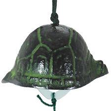 Japanese Furin Wind Chime Nanbu Iron Iwachu Turtle Tortoise Shell, Made in Japan