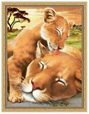 Artibalta Diamond Painting CRYSTAL ART CRAFT Buddy DIY Kit- LEOPARD BABY 30x40cm