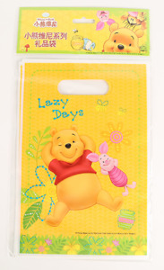 Winnie the Pooh Party Loot Bags Treat Bags 12 Pack Piglet Lazy Days