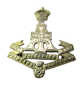 The Princess Of Wales Own Yorkshire Regiment Cap Badge