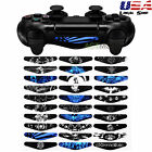 30 PCS Led Light Bar Decal Stickers Skin Cover for Sony PS4 Pro Slim Controller