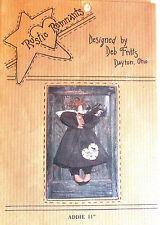 "Rustic Remnants ""Addie"" 11"" Angel Doll Pattern"
