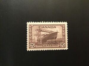 "JPS_Stamps! #260...""Corvette, 20¢ chocolate"" (vg/hinge)"