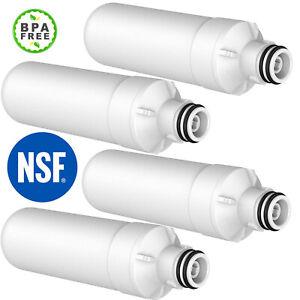 4X Water Filter For LG GF-D708MBSL GF-L570MBL GF-L570PL MDJ64844601 LT1000PCS