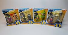 NEW!! LOT 4~ IMAGINEXT DC and Friends BATMAN Robin Superman Joker Haley Quinn