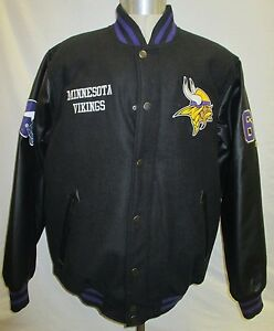 Minnesota Vikings NFL Men's Snap-Up Full-Zip Jacket