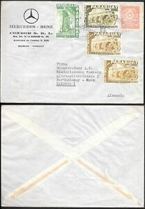 Paraguay Mercedes-Benz Cover to Germany 1950s.