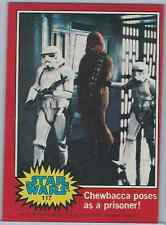 1977 Topps Star Wars Red #117 Chewbacca Poses As A Prisoner! > EX-MT